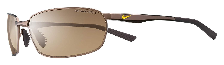 d8a6af709b68 Amazon.com: Nike Eyewear Men's Avid Wire EV0569-203 Rectangular Sunglasses,  Walnut, 61 mm: Nike: Sports & Outdoors