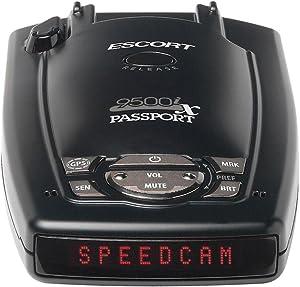 Escort Passport 9500iX - Long Range, Fewer False Alerts, National Coverage, GPS Capable, Ticket Protection