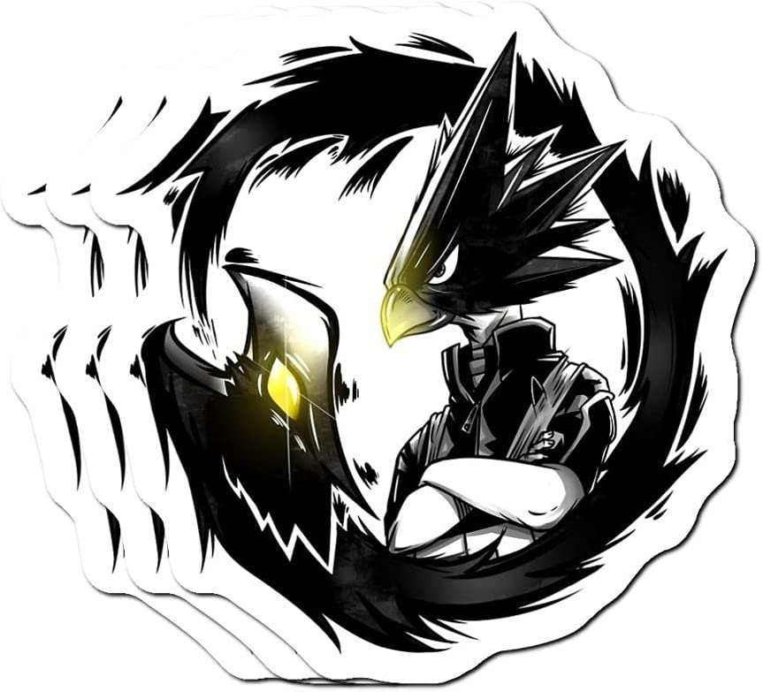 Tokoyami Dark Shadow My hero Academia Earrings Anime