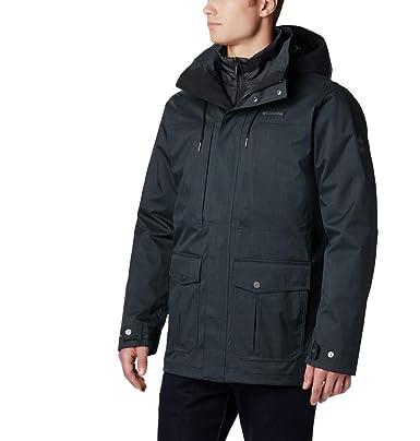 Columbia Horizons Pine Interchange Jacket Chaqueta Impermeable, Poliéster, Hombre