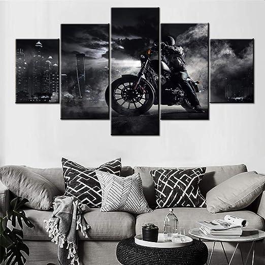 """cafe racer canvas print  vintage art wall decor large motor bike 28/"""""""
