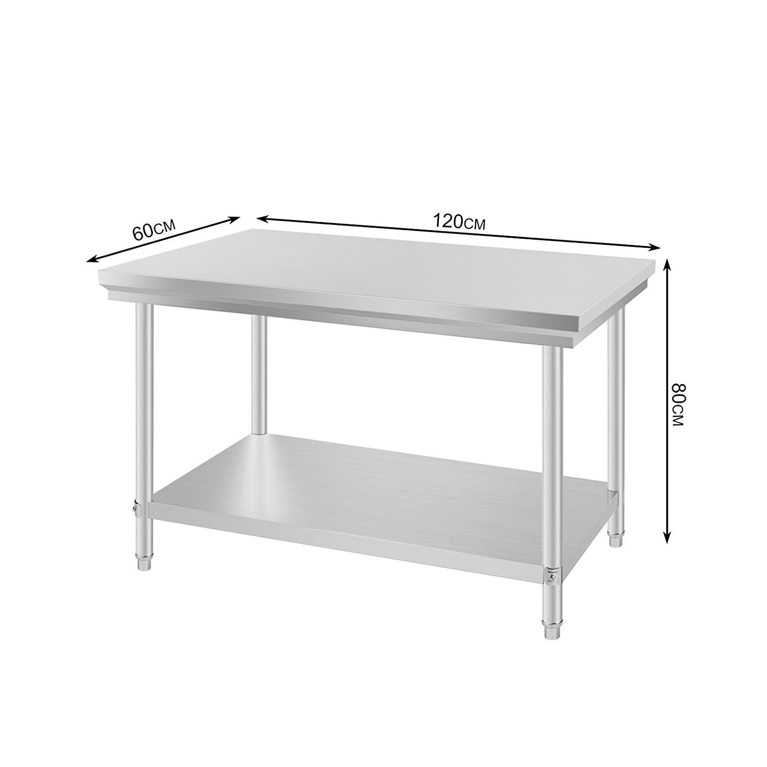 Stainless Steel Kitchen Work Table Gallery - Bar Height Dining Table Set