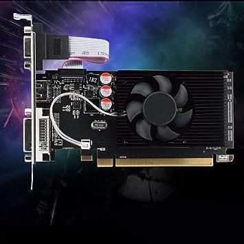 FidgetGear Black GPU HD 6450 - Tarjeta gráfica de vídeo para ...