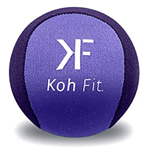 Koh Fit Stress Ball for Adults - Stress Reliever Squeeze Balls - Bonus 18-Page Hand Exercise Therapy Ebook
