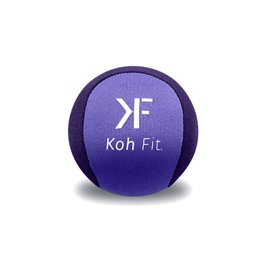 Koh Fit Stress Ball for Adults Stress Reliever Squeeze Balls Bonus 18 Page Hand Exercise Therapy Ebook