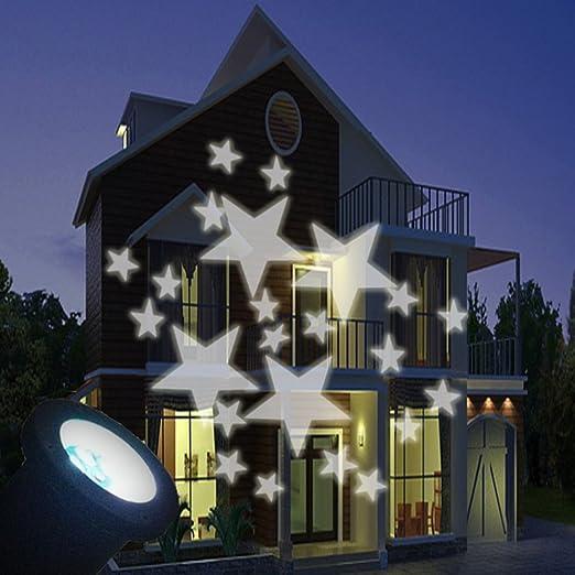 yacooler Moving Star LED proyector Exterior Jardin Decoracion ...