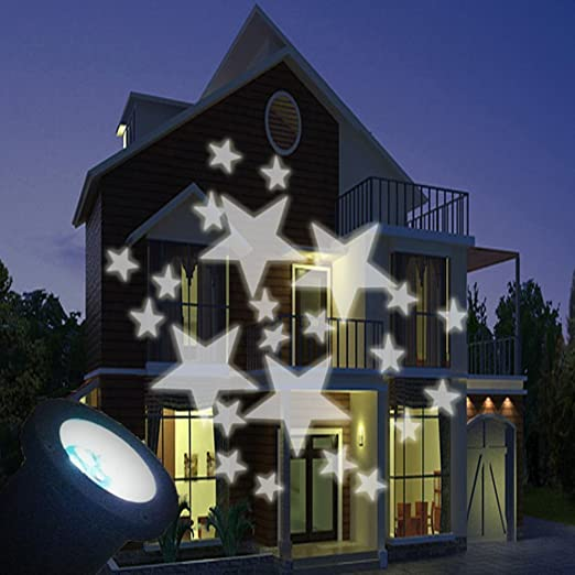 yacooler Moving Star LED proyector Exterior Jardin Decoracion ...