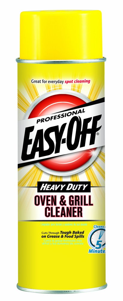 Easy-Off Professional Oven & Grill Cleaner, 48 oz (2 Cans x 24 oz) by Easy Off