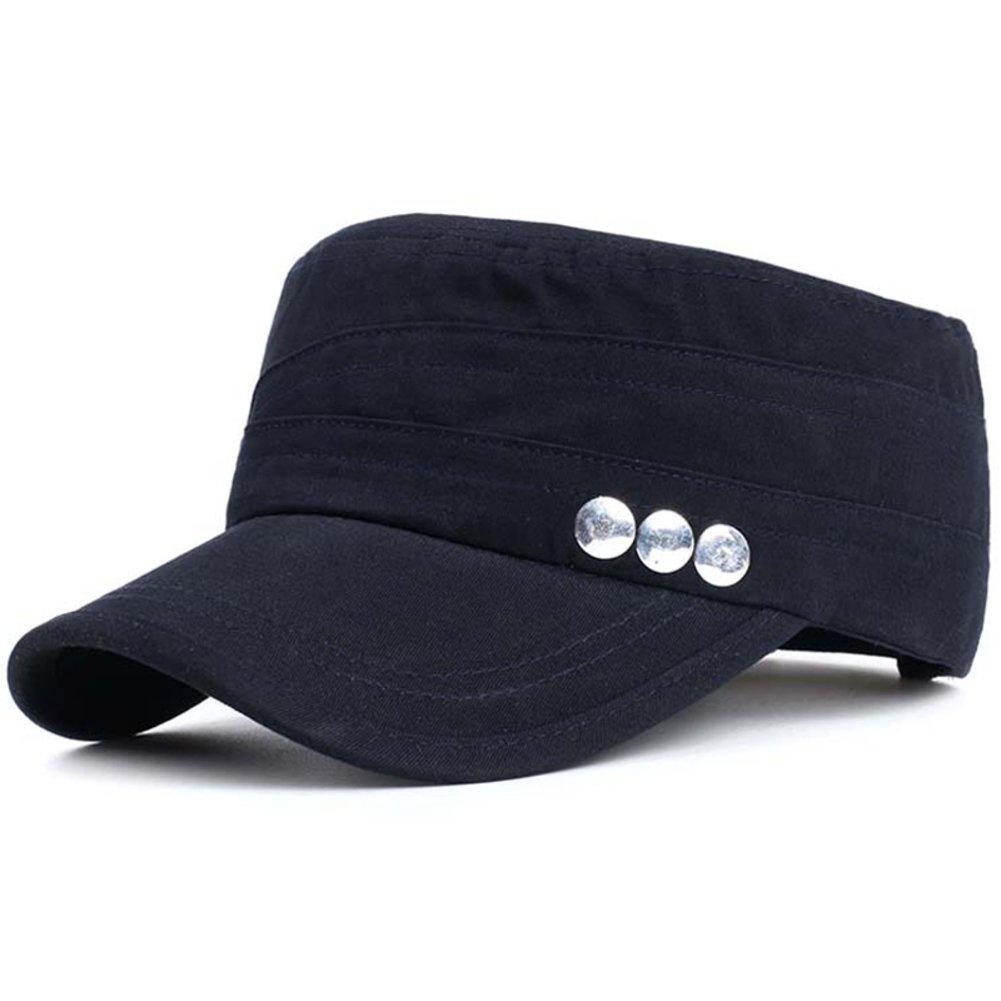 Sombrero/Hombres otoño versión coreana de la tapa plana/Gorra ...