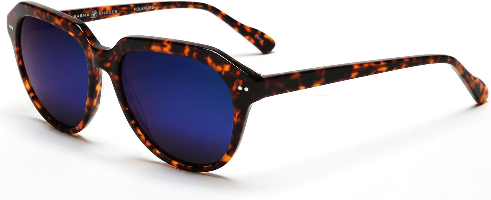 b06c44e2c6 Samba Shades Women s Polarized Jackie O  New Classic Fashion Sunglasses  with Brown Tortoise Shell Frame