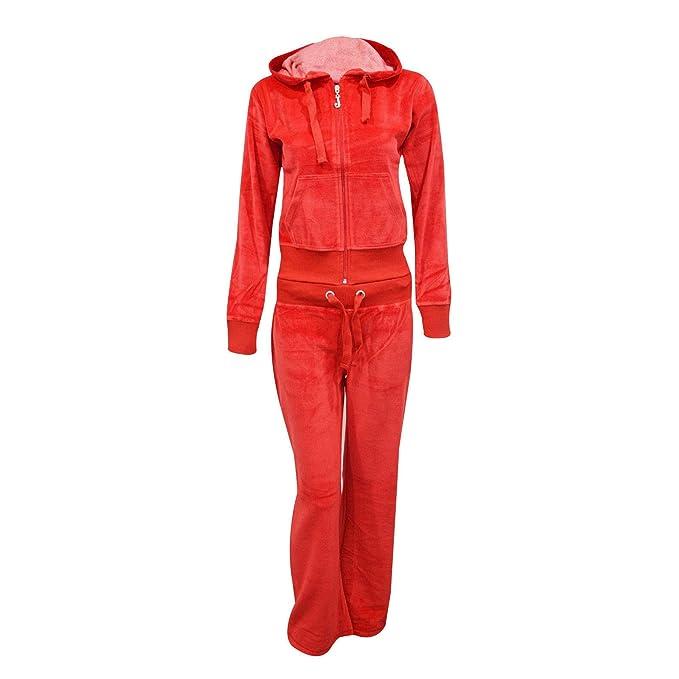 For My Love Fashion de la marca Exceptional - Chándal de terciopelo para  mujer e7136bfae405