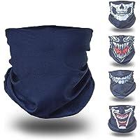BlackNugget capucha negra oscura carenado cara tela pañuelo