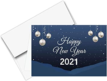 10+ Happy New Year 2021 Cards