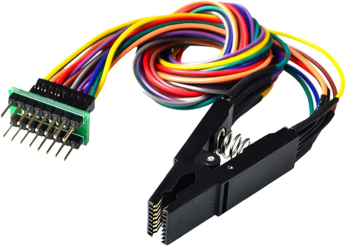 Black Programmer Testing Clip SOP8 Pin SOIC8 DIP8 IC Test Clamp` YJ
