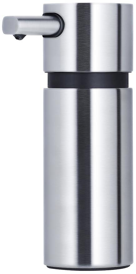 Blomus Areo Dispensador de jabón, mate cepillado de acero inoxidable 220 ml