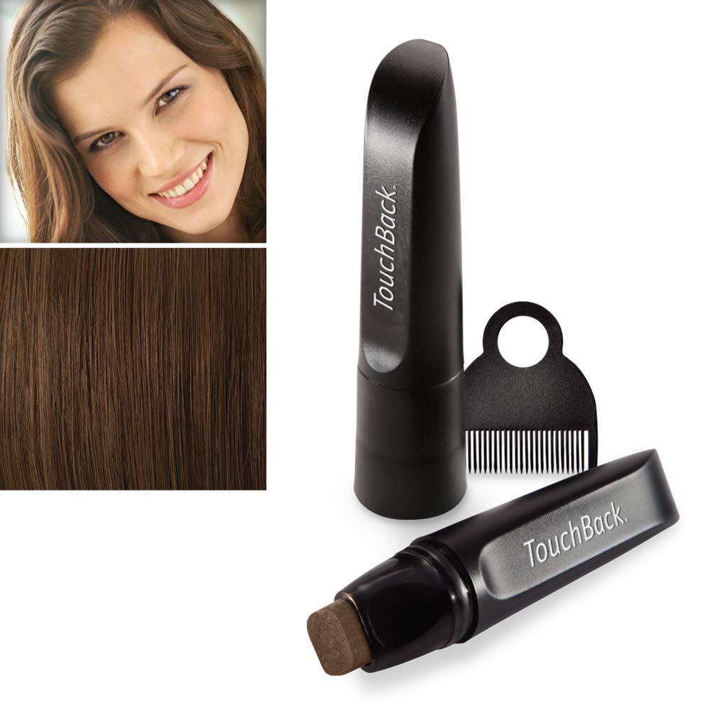 graue Haare färben