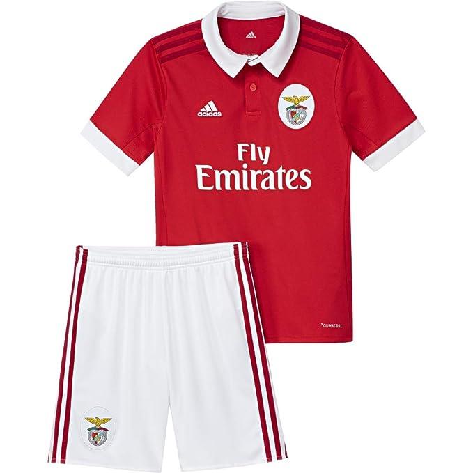 adidas Children's Slb H Smu Sl Benfica Football Kit Set