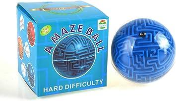 Morbuy Bola del Laberinto 3D, Inteligencia Ball Maze Juego Bola de sabiduría 3D educativa Magic Juego de Pelota de Juguete (dificultad Dura): Amazon.es: Juguetes y juegos