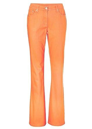 Stretchhose Röhre Gr 38 jeansblau Stretch Hose Baumwolle Basic 5 Pockets