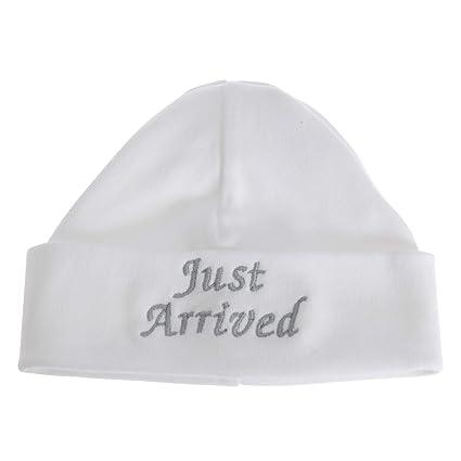 Gorro diseño Just Arrived para recién nacidos/bebés (Talla Única ...