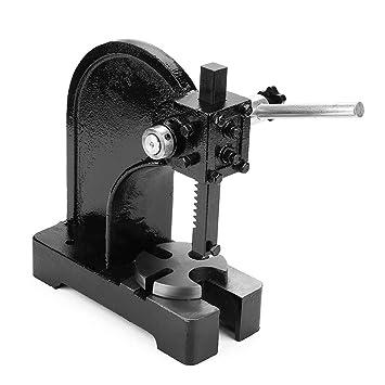 0.5T máquina de perforación manual para escritorio, herramienta de ...