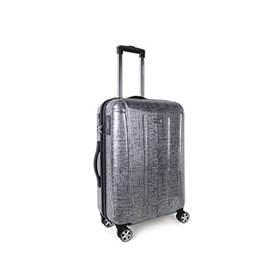 Newcom Hard Shell Spinner Luggage 100% PC Omit PC with Intelligence I-Weight Totes
