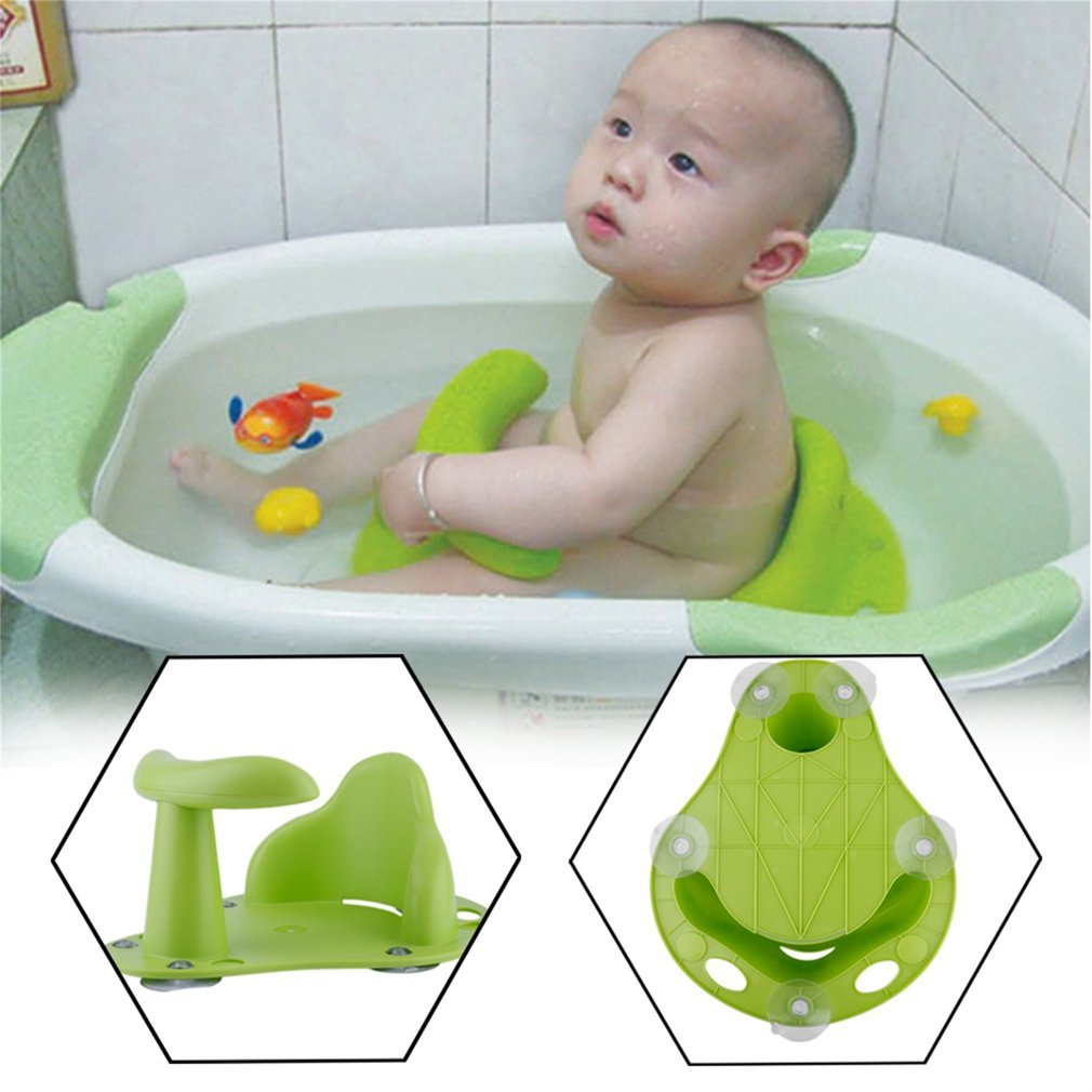 YTCYKJ Baby Bath Tub Ring Seat Infant Child Toddler Kids Anti Slip Safety Chair
