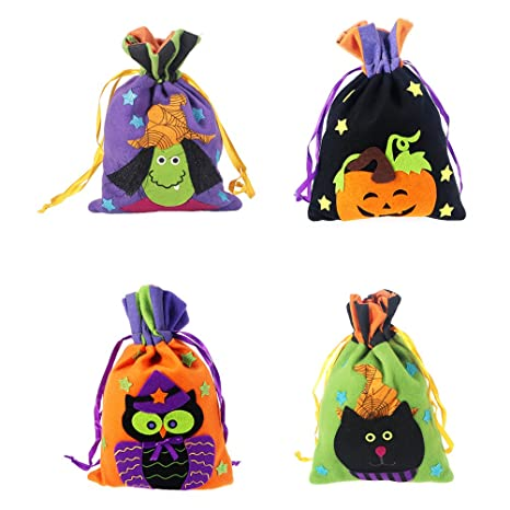VORCOOL Halloween Treat Bolsas para Trick or Treat ...