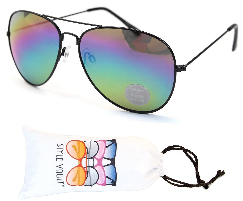 A3065-VP Style Vault Metal Aviator Sunglasses