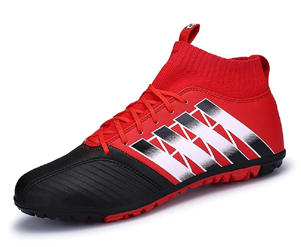 JiYe Men Soccer Shoes for Women Breathable Lightweight Turf Football Shoe Fashion Training Sneakers