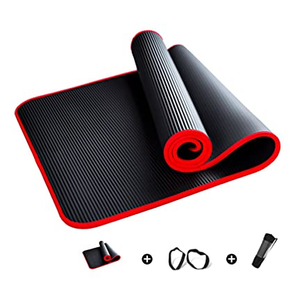 Amazon.com : He Xiang Firm Three-piece non-slip yoga fitness ...