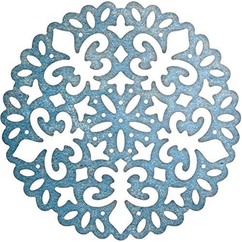 Cheery Lynn Designs DL319 Fleur De Lis Super Doily