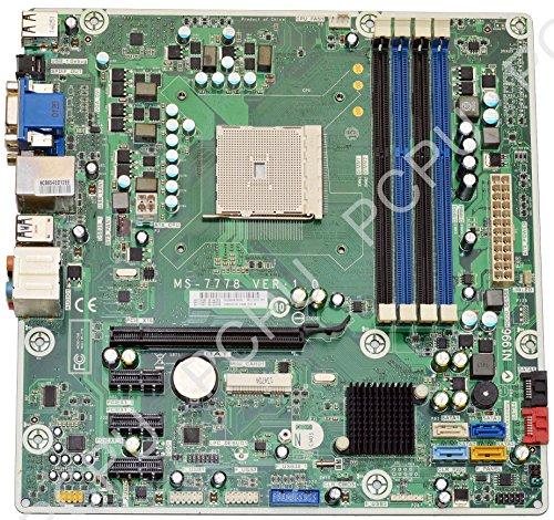 717067-501 HP P6 P7 Jasmine-R AMD Desktop Motherboard FM2 (Hp Service Notebook Manual)