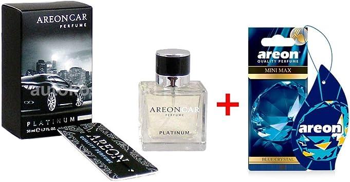 Areon Lufterfrischer Lux Parfüm Platinum 50ml Blue Crystal Auto