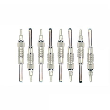 NewYall Pack of 8 Diesel Glow Plugs
