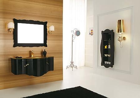 Dafnedesign mobile da bagno con cassetti e specchio