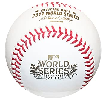 new style 97123 d648d Rawlings 2011 World Series Official MLB Game Baseball - St ...