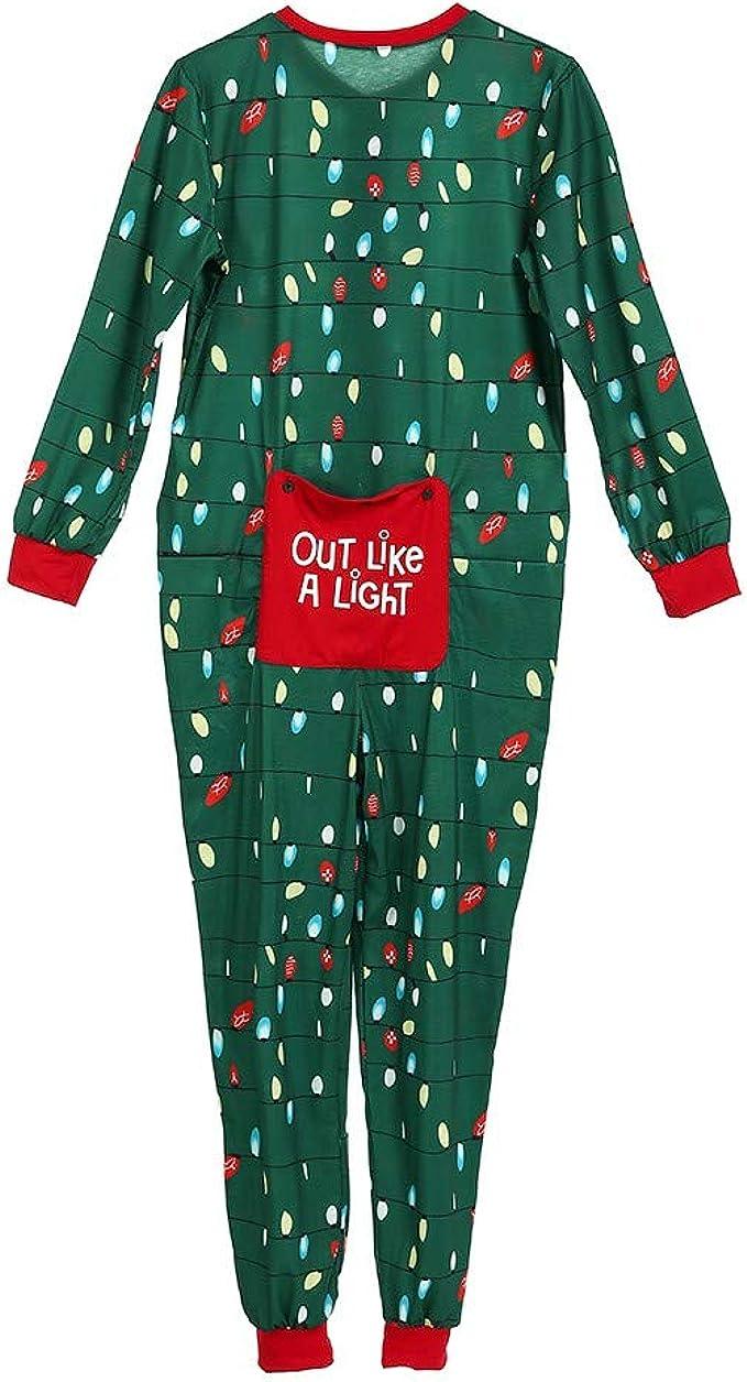 Trisee Mono Pijama de Familia Navidad para Hombre Mujer Niños ...