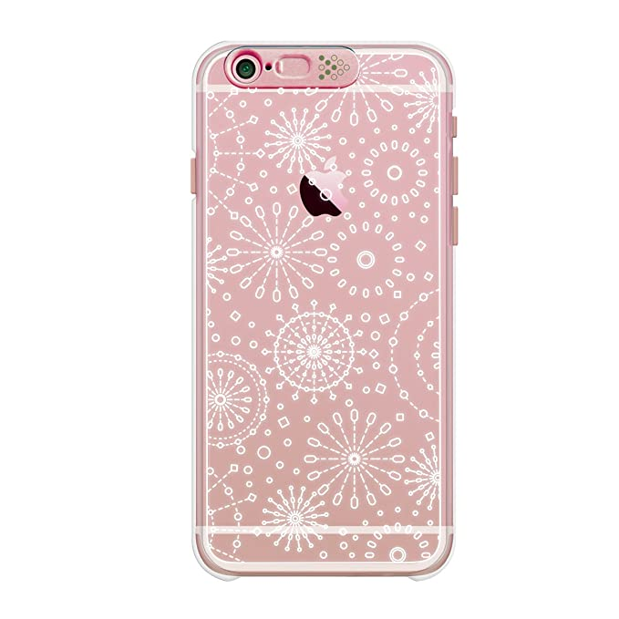 489bc218f8 Image Unavailable. Image not available for. Color: SG Clear Shield  Illumination Case Rose Gold Fireworks for iPhone 6s Plus/6 Plus