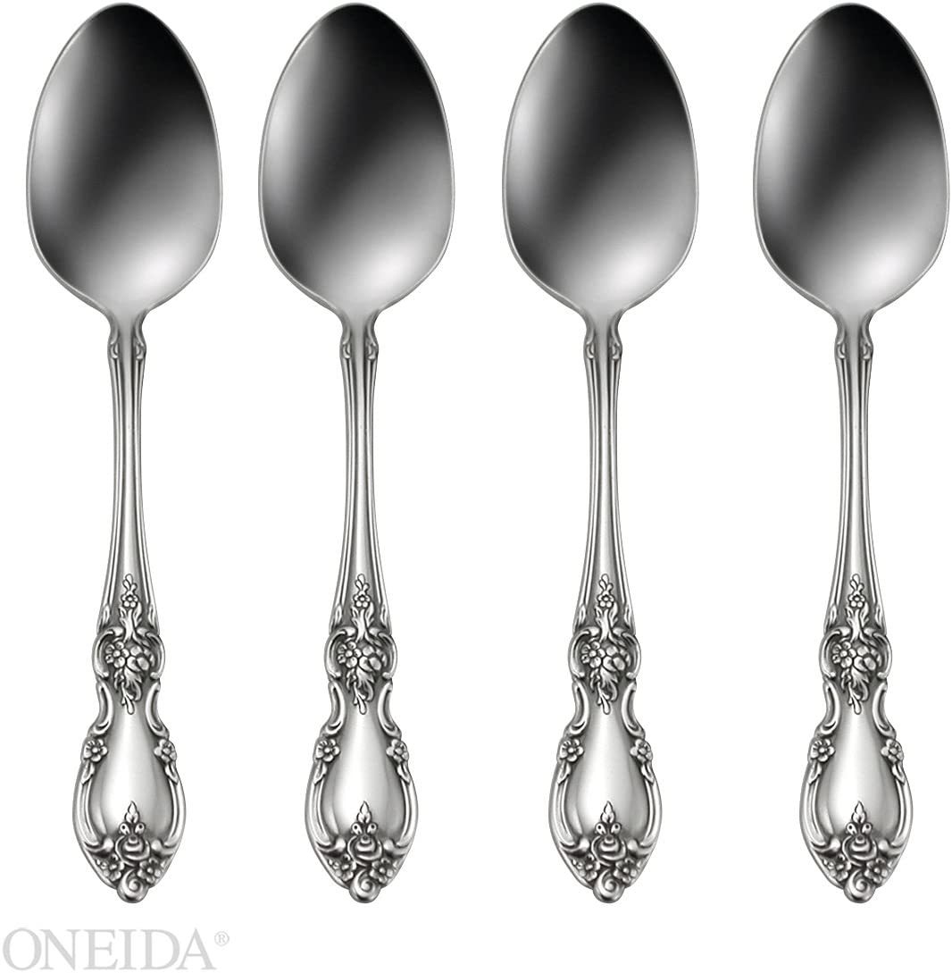 Oneida Louisiana Fine Flatware Dinner Forks 18//10 Stainless Steel Set of 4