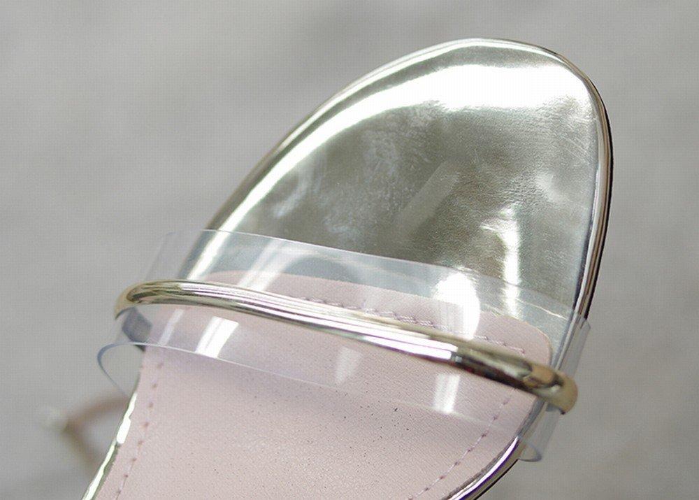 DHG DHG DHG Rom-Modewortschnalle Dick mit Bogenfee-Hohen Absätzen Aprikose 39 905f84