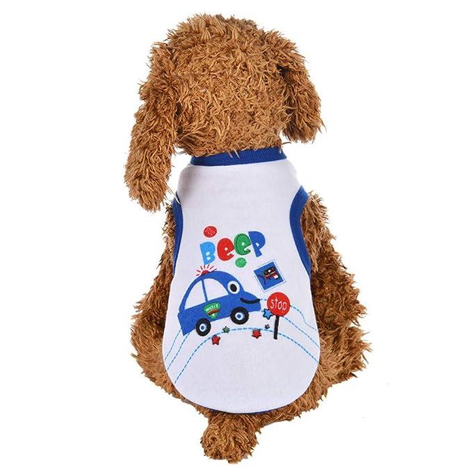 Ropa para Mascotas,Dragon868 Camisas de Verano Chalecos para Perros pequeños: Amazon.es: Ropa y accesorios