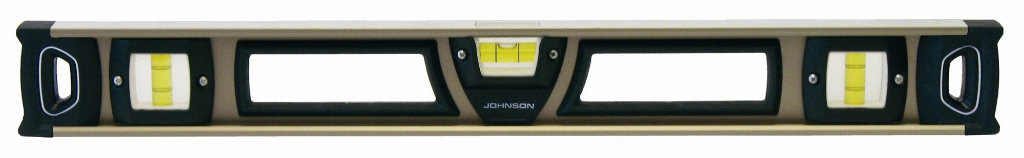 Johnson Level and Tool 1501-2400 Johnson 24-Inch Heavy Duty Magnetic Professional Aluminum Level