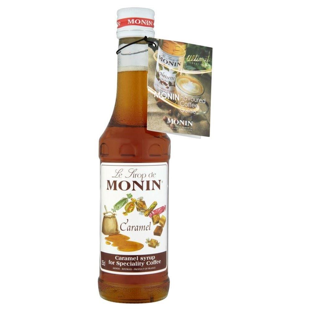 Monin Caramel Syrup (250ml) - Pack of 6