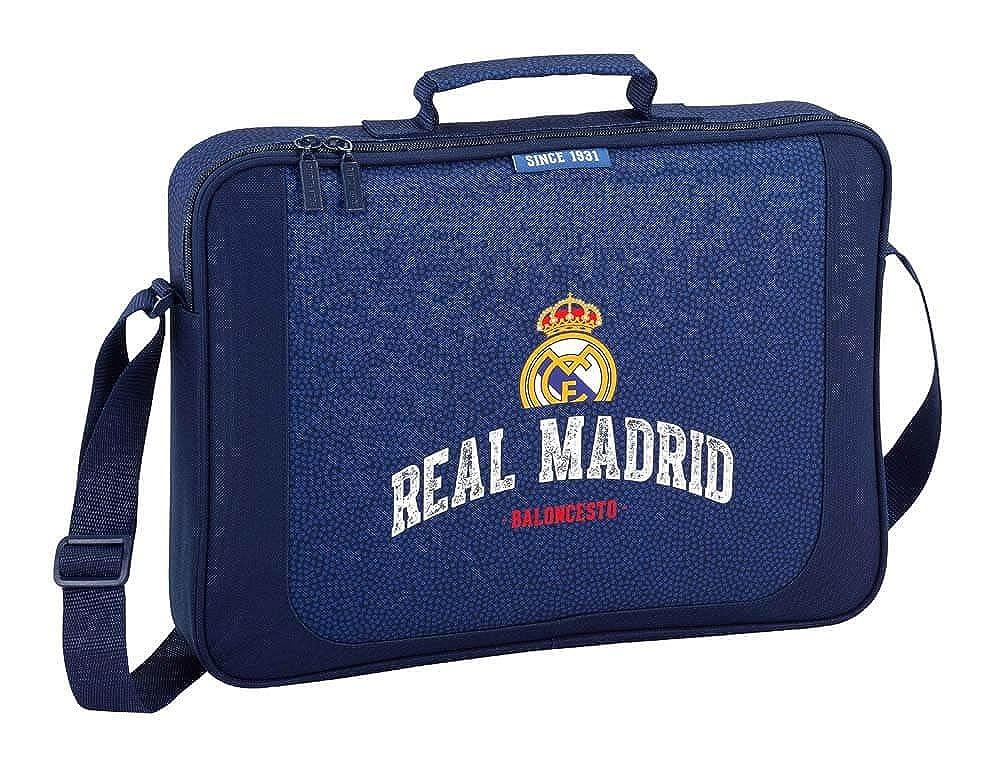 Safta Maletín Real Madrid Basket Oficial Para Ordenador ...