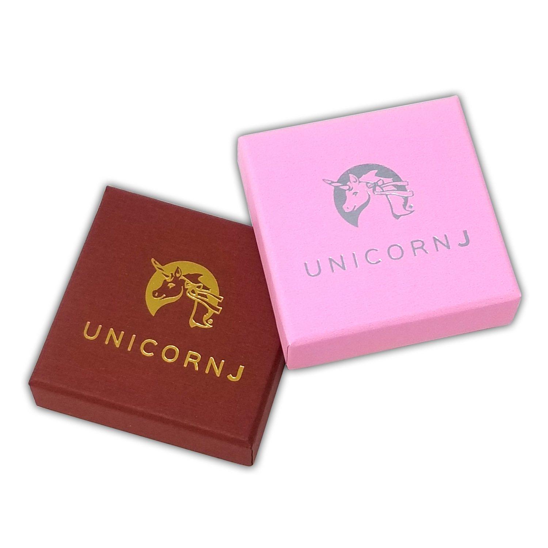 UNICORNJ Childrens Sterling Silver 925 Cute Elephant Earrings Leverback with Pink Enamel