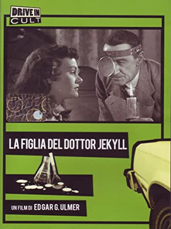 1957 Daughter of Dr Cult Horror movie poster print 2 Jekyll