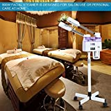 2 in 1 Hot and Cold Spary Facial Steamer, Double Tube Portable Adjustable Height, Salon Spa Face Hydrating Beauty instrument Home Skin Care Tool