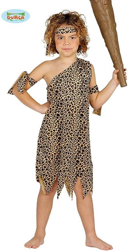 /costume di Troglodita aventurera per ragazza My Other Me/ 10-12 a/ños Viving Costumes