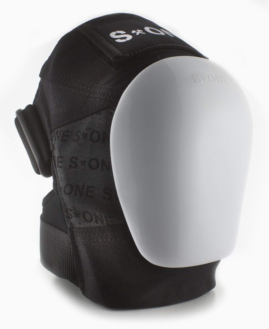 S-ONE GEN 3 PRO Knee Pads - White Cap (Small : Top of Knee 14''-15''; Bottom Knee 12''-13'')